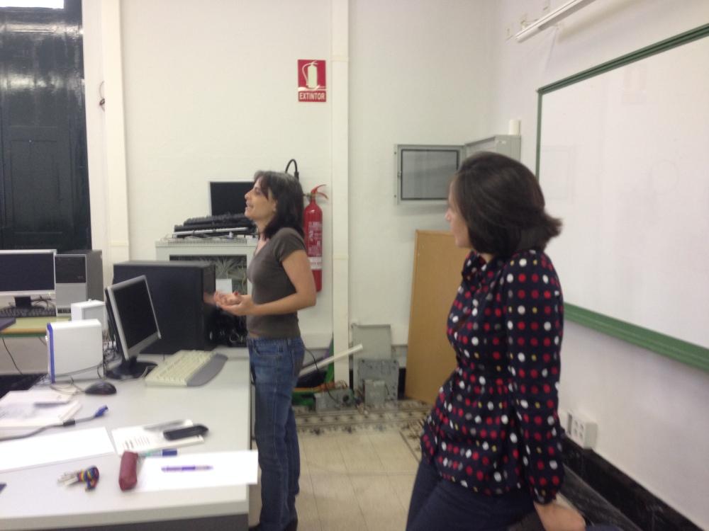 2 Coral y María IES Cabrera Pinto